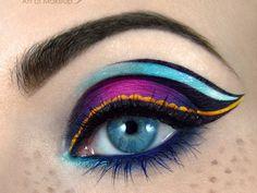 maquillaje de animales en ojos - Buscar con Google