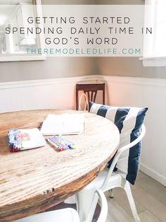 The Remodeled Life Spiritual Disciplines, Try Harder, Knowing God, Cool Tools, Organization Hacks, Diy Tutorial, Easy Diy, Tutorials, Faith