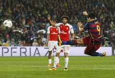 Suárez Barcelona x Arsenal (Foto: Reuters)