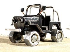 1974 Toyota Land Cruiser FJ40 (24) by Brown Dog Welding, via Flickr