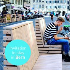 The Swiss capital Bern has used a number of pilot interventions to catalyze pedestrian experiences, staying quality and local commerce… Parking Space, Bern, Pedestrian, Pilot, Number, Instagram, Landscape, City, Arquitetura