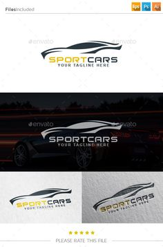 Car Logo (Transparent PNG, Vector EPS, AI Illustrator, Resizable, CS, attractive, auto, black, business, car, clean, cog, creative, design, elegant, flat, gear, gearing, industry, logo, logo template, modern, modify, motor, muscle, power, professional, racing, simple, speed, sports, tuning)