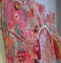 MAD Blog » Rebecca Ringquist Works In Progress ... one of my most favorite textile artists