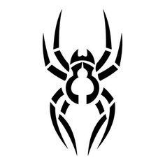 Tatouage araignée tribal 04 - Voilà mon tatouage - Trouvez votre ...