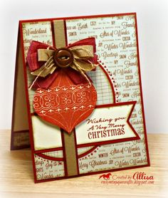 CTMH Christmas card Rocky Mountain Paper Crafts: Mojo Monday #261