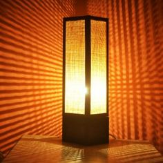 Saloni Net Table Lamp from KraftInn