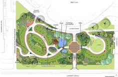 Why You Should Have a Garden Fountain Landscape Architecture Design, Landscape Plans, Facade Architecture, School Architecture, Landscape Designs, Yard Water Fountains, Plaza Design, Parking Design, Landscape Drawings