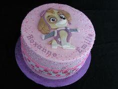 Cake Skye Paw Patrol gâteau Pat Patrouille Stella Skye Paw Patrol Cake, Paw Patrol Cake Toppers, Paw Patrol Party, 4th Birthday Parties, Birthday Fun, Birthday Cake, Pretty Cakes, Cute Cakes, Paw Patrol Birthday Girl