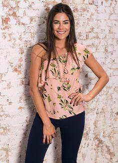 #debrummodas #blusa #umombrosó #floral #modafeminina #moda #estilo #style #fashion #verão #2017