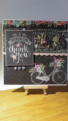 Featuring Craftwork Cards Chalkboard collection Craftwork Cards, Cardmaking, Chalkboard, Card Ideas, Birthday Cards, Craft Projects, Greeting Cards, Diy Crafts, Crafty