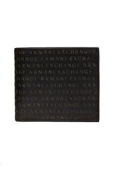 Logo Wallet - Accessories - Mens - Armani Exchange