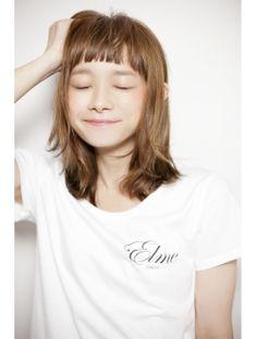 エルメ Elme Elme Style !! 8 hair 小熊 make 倉林 ヘアカタログ hair ミディアム