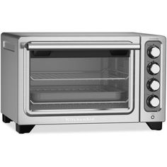 KitchenAid KCO253CU Compact Toaster Oven ($190) ❤ liked on Polyvore featuring home, kitchen & dining, small appliances, contour si, kitchen aid toaster oven, kitchenaid toaster oven, kitchenaid, kitchenaid small appliances and compact toaster oven
