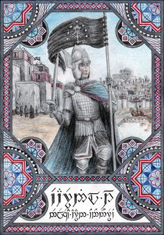 Eärnil I neleqëa aran Ondonórëo Eärnil I was the thirteenth king of Gondor. He was son of Tarciryan, son of king Siriondil. Earnil I of Gondor Thranduil, Lotr Swords, Motte And Bailey Castle, History Of Middle Earth, John Howe, Character Sketches, Jrr Tolkien, Lord Of The Rings, The Hobbit
