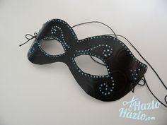 Cómo hacer una máscara para usar en Carnaval.