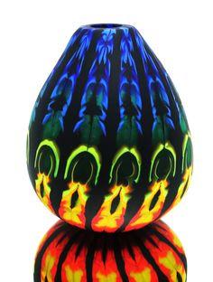 Glasvase geschmolzen aufgerollt geblasen Pumpkin Carving, Sculptures, Objects, Art, Glass Vase, Craft Art, Sculpting, Kunst, Gcse Art