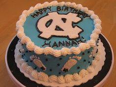UNC Birthday Cake