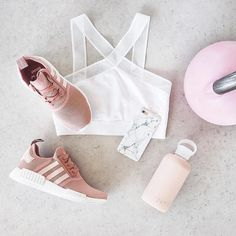 F I T ✖️ K I T Workout style from @fashionablefit #fitness #adidas #pink