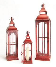 Look at this Red Lantern Set on #zulily today!