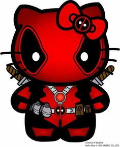 Yes !!!!! DeadPool Hello Kitty ❤️☠️
