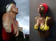 Carol Feuerman - hyperrealistic sculptor