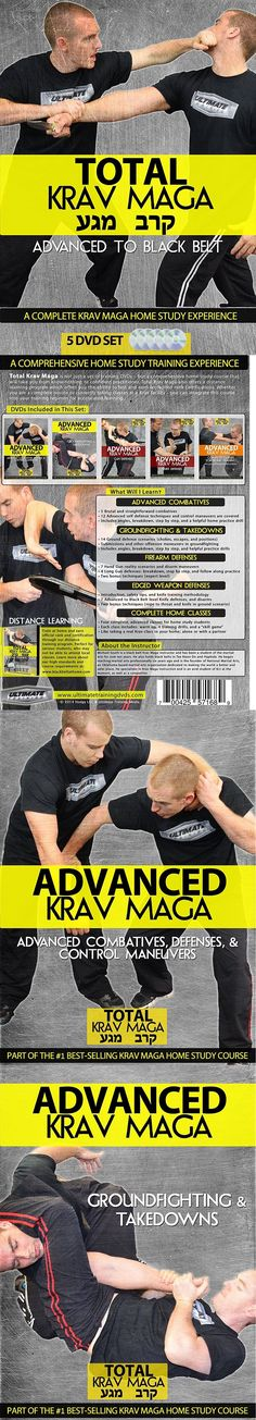 DVDs Videos and Books 73991: Total Krav Maga: Advanced To Black Belt 5 Dvd Set (Groundfighting, Gun, Knife) BUY IT NOW ONLY: $65.5