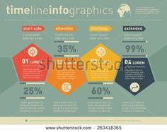 웹 템플릿 스톡 벡터 및 벡터 클립 아트 | Shutterstock What Is Big Data, Infographic, Infographics, Visual Schedules