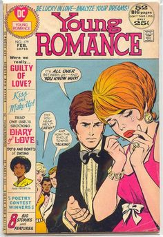 Cover for Young Romance (DC, 1963 series) #179