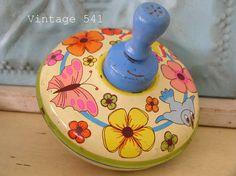 Tin Litho Toy Top