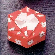 Momodani good English basic models distorted hexagonal origami box tutorial taught you how to make origami paper box
