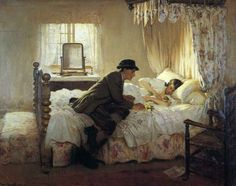 By Fredrick William Elwell he was  born in Beverly Yorkshire.