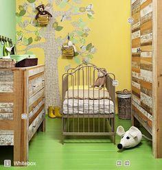 gyerekszoba lakberendezése, természetbarát otthonba