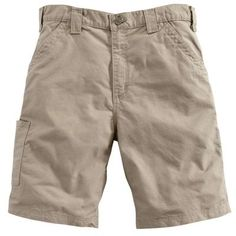 Solid cotton canvas work shorts with a hammer loop, utility band and tool pocket. cotton ringspun canvas Sits slightly above the waist Full seat and thigh Left-leg hammer loop and ruler Work Belt, Work Shorts, Dark Khaki, Tactical Gear, Short Outfits, Cotton Shorts, Carhartt, Fashion Advice, Cotton Canvas