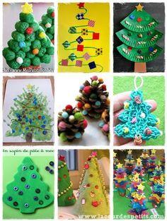 40 bricolages de Noël pour patienter