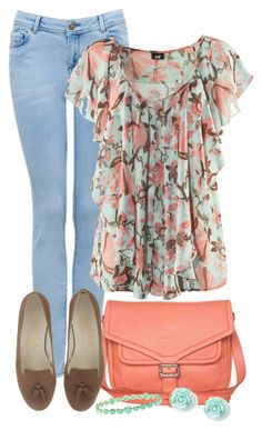 """Softy"" by kajones722 ❤ liked on Polyvore featuring Forever New, H&M, BREE and Ippolita"
