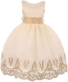 New Little Girls Sleeveless Lace Embroider Party Holiday Dressy Flower Girl Dress taupe bridesmaid dresses. ($49.99) doodeeshopping offers on top store Tulle Ball Gown, Ball Gown Dresses, Tulle Dress, Vestidos Vintage, Vintage Dresses, Toddler Girl Dresses, Flower Girl Dresses, Taupe Bridesmaid Dresses, Sexy Backless Dress