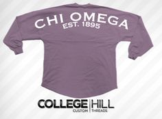Chi Omega Oversized Jersey.  get in on the Voting! #chio #chiomega #oversized #jersey