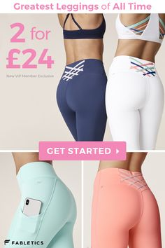 A well-shaped buttocks with Fabletics! Leggings for any shape and any size Shoppe Styles from XXS to at Fabletics! Cute Summer Outfits, Stylish Outfits, Fashion Outfits, Dance Outfits, Sport Outfits, Beste Leggings, Best Friend Outfits, Outfits Damen, Fit Women
