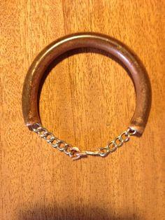 Chain through copper
