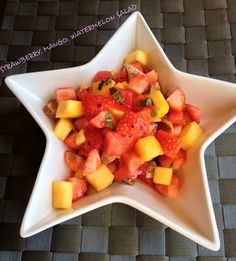Recipe – STRAWBERRY, MANGO, WATERMELON SALAD