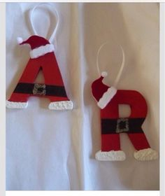Christmas Letter Decor