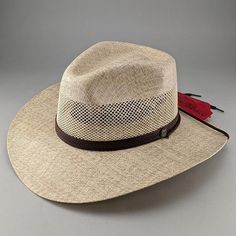 "The Florence Freedom Sun Hat combines the classic Panama hat style and comfort, without breaking the bank. Featuring a 3 1/2"" wide brim, and a 4"" breathable crown design, this hat is perfect for the days you'll spend lounging in a beach-side hammock sipping mojitos, or walking the streets of Havana. #hats #sunhats #strawhats Hat Hooks, Straw Fedora, Red Carpet Event, Hats Online, Sun Hats, Hats For Men, Havana, Hammock, Florence"