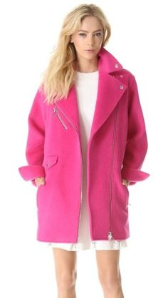 Moschino Cheap and Chic Wool Coat | SHOPBOP
