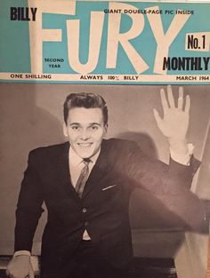 Billy Fury Monthly No.1
