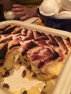 ... and custard bread and butter pudding - Gary Rhodes recipe sooooo yummy