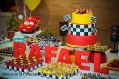 ... Car Themed Birthday Party With