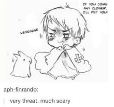 Ok but people forget: Prussia LOVES cute things. That's why Italy is his favorite person. THIS IS CANON. THIS IS A CANON FACT FROM HIMARUYA.