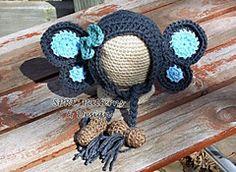 Ravelry: Peanut the Elephant Bonnet pattern by SPRE Patterns & Design $5.49