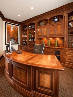 Country Home - 07 - traditional - home office - salt lake city - THINK architecture Inc.