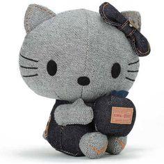 new EDWIN & HELLO KITTY Stuffed toy Collaboration ( S ) sanrio JP Limited rare | eBay